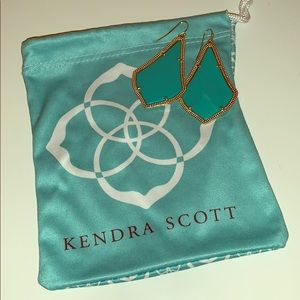 Kendra Scott Alexandrea Gold Earrings
